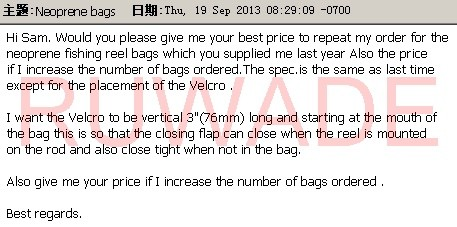 Neoprene fly reel case order comments -44