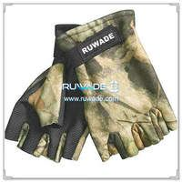 2.5mm fingerless camo neoprene hunting gloves -001