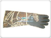4mm camo neoprene fishing gloves -002