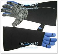 4mm long full finger neoprene fishing gloves -007