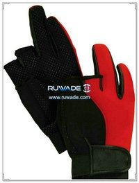 2.5mm low cut neoprene fishing gloves -001