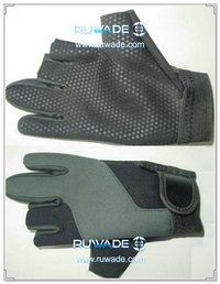 Low cut neoprene fishing gloves -003