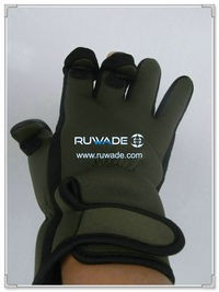 Low cut neoprene fishing gloves -005-1