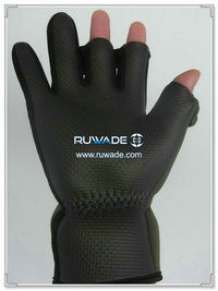 Low cut neoprene fishing gloves -005-2