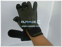 Low cut neoprene fishing gloves -005-3