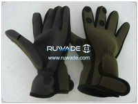 Low cut neoprene fishing gloves -005-4