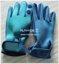 Low cut neoprene fishing gloves -005-5
