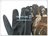 Low cut neoprene fishing gloves -006-5