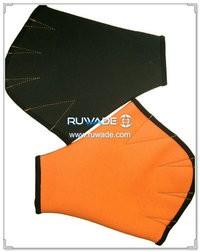 2mm neoprene webbed swimming gloves -001