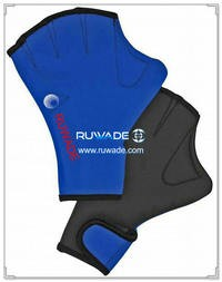 3mm neoprene webbed swimming gloves -004
