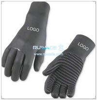 5mm full finger neoprene sport gloves -028