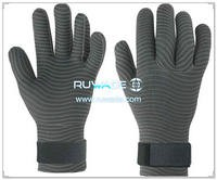 5mm full finger neoprene diving gloves -029