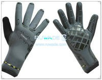 4mm full finger neoprene diving gloves -031