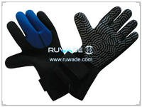 3mm full finger neoprene diving gloves -043