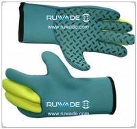 3mm plein gants à doigts en néoprène enfants -047