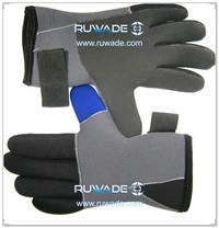 4.5mm full finger neoprene diving gloves -050