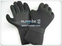 4mm full finger neoprene diving gloves -054