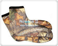 Neoprene camo mid socks -026