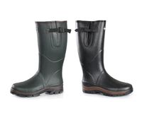 Neoprene high knee rubber boots -020