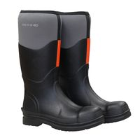 Neoprene high knee rubber boots -027