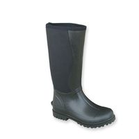 Neoprene high knee rubber boots -028