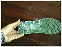 Botas impermeables de ave zancuda de la lluvia del PVC -002