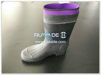 Botas impermeables de ave zancuda de la lluvia del PVC -003