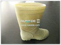 Botas impermeables de ave zancuda de la lluvia del PVC -004