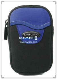 Rectangular style neoprene camera pouch -022