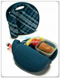 Neoprene lunch/picnic bag -001-5