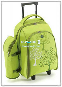 4 persons picnic trolley backpack -009