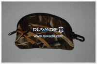 Neoprene camo glasses bag -039