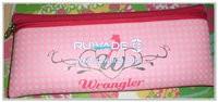 長方形のスタイルのネオプレンの鉛筆の袋 -043
