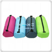 Rectangular cube style neoprene pencil case -055