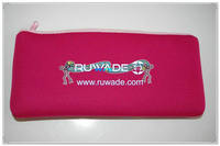 Rectangular style neoprene pencil case -066