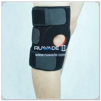 Neoprene supporting steel strips knee support brace -046