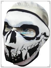 Neoprene skull full face mask -001