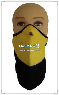 Neoprene motorcycle/bike/cycling face mask -010