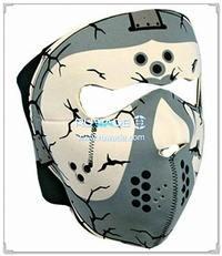 Neoprene devil full face mask -014