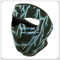 潜水料蓝色闪电全脸面罩 -018