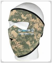 Neoprene Camouflage full face mask -031