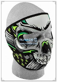 Neoprene skull full face mask -032