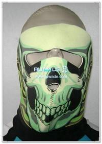 ネオプレン頭蓋骨フルフェイスのマスク -058