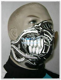 Neoprene motorcycle/bike/cycling face mask -060-1