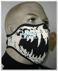 潜水料骷髅半脸面具 -062