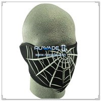 Neoprene spider web half face mask -071