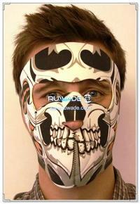 Neoprene skull full face mask -073