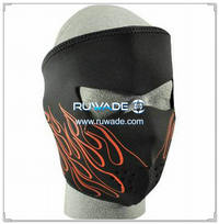 Neoprene moto/bici/bici full face mask -084
