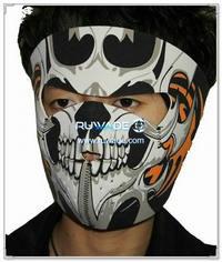 Neoprene skull full face mask -100