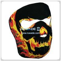 Néoprène flammes masque complet -109